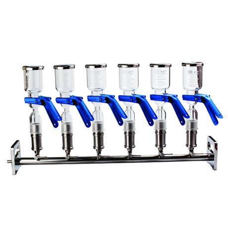 天津津腾JTFA0205六联玻璃过滤器